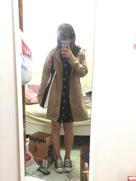 (UNIQLO) using this 红洋冲 looks