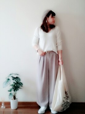 chiro!♡*さんの「マルシェバッグ / Marche Bag(TODAY'S SPECIAL)」を使ったコーディネート