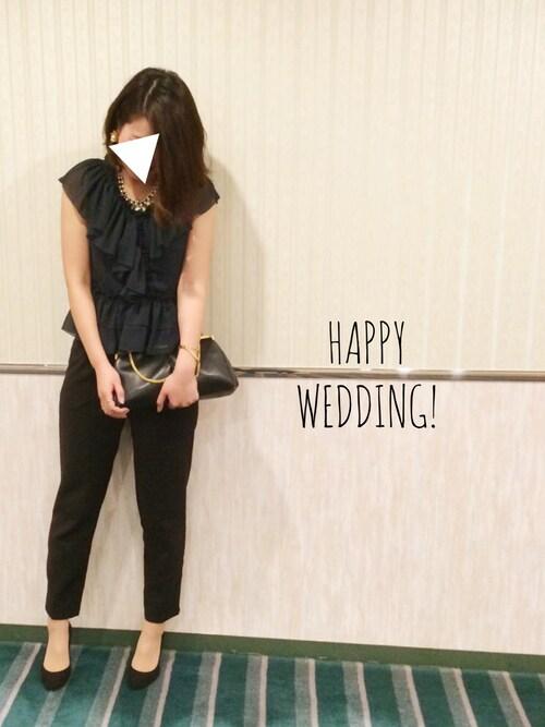 結婚式 お呼ばれコーデ 30代
