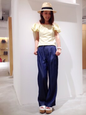 USAGI ONLINE STORE|shizuka ishiguroさんの(FRAY I.D|フレイ アイディー)を使ったコーディネート