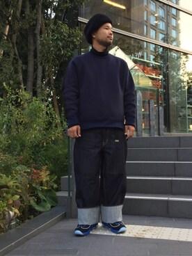 EN ROUTE FUTAKOTAMAGAWA|H.Satoさんの「Rohw ENR EX BERET(Rohw master product)」を使ったコーディネート