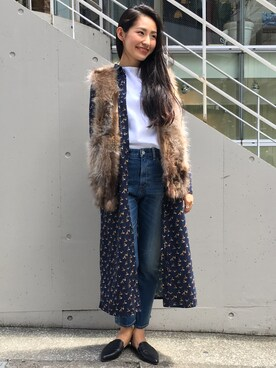 FREAKS STORE 渋谷店 尾崎こずえさんの(FWK by engineered garments)を使ったコーディネート