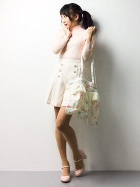 ZOZOTOWN|椎名成美さんの(PROPORTION BODY DRESSING|プロポーションボディドレッシング)を使ったコーディネート