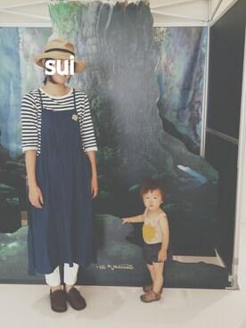 suiさんの(こども ビームス|コドモビームス)を使ったコーディネート