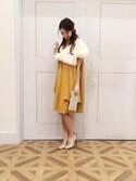 saoriさんの「【KATHARINE ROSS】キラキラスクエアクラッチ(KATHARINE ROSS|キャサリンロス)」を使ったコーディネート