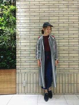 MILKFED. 名古屋|伊藤有希さんの「LOGO BIG TOP(MILKFED.)」を使ったコーディネート