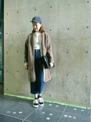 MILKFED. AT HEAVEN27 名古屋|伊藤有希さんの「HEIGHT NECK TOP(MILKFED.|ミルクフェド)」を使ったコーディネート