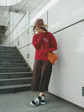 MILKFED. AT HEAVEN27 名古屋|伊藤有希さんの「MILKFEDxBRIXTON(MILKFED.|ミルクフェド)」を使ったコーディネート