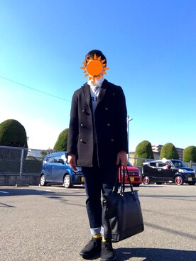 hiroさんの「チャッカブーツ/569309(RAGEBLUE)」を使ったコーディネート