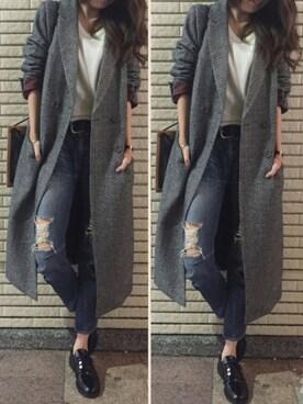 FEMIND TOKYO代官山本店|chiiさんの「レースアップシューズ(URBAN RESEARCH)」を使ったコーディネート