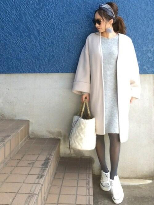 shino◡̈*❤︎さんの「ベルベットクロスヘアバンド【PLAIN CLOTHING】(PLAIN CLOTHING)」を使ったコーディネート