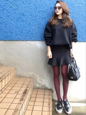 shino◡̈*❤︎さんのハンドバッグ「フラップハンドバッグ/ショルダーバッグ【PLAIN CLOTHING】(PLAIN CLOTHING|プレーンクロージング)」を使ったコーディネート