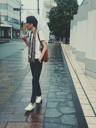 「Tom Ford Large Acetate Frame Fashion Glasses, Black(Tom Ford)」 using this daimaru looks