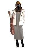 mocaさんの「スエードスカラップブーツ(merry jenny メリージェニー)」を使ったコーディネート