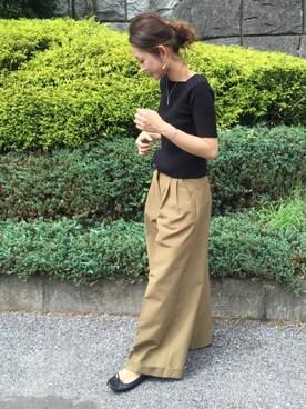 ぺこさんの(Traditional Weatherwear|トラディショナルウェザーウェア)を使ったコーディネート