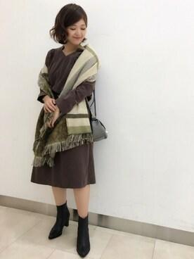 ●ROSSO京都ポルタ店|kirimuraさんの(ombre|オンブル)を使ったコーディネート