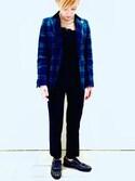 ショーコさんの「○UBBT P/R ツイル パンツ 16FW ◆(UNITED ARROWS|ユナイテッドアローズ)」を使ったコーディネート
