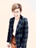 ショーコさんの「<Levi's(R) Vintage Clothing > 519 コーデュロイパンツ(UNITED ARROWS|ユナイテッドアローズ)」を使ったコーディネート