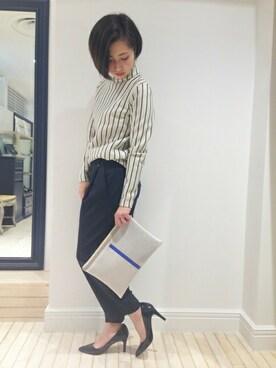 EDIT.FOR LULU 新宿店|MARIKAさんの「◆DESIGNERS REMIX Base Top(EDIT. FOR LULU)」を使ったコーディネート