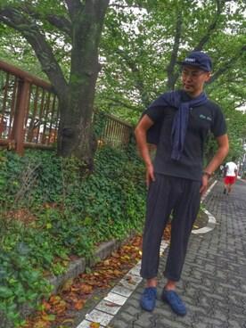 jun oyaさんの(adidas|アディダス)を使ったコーディネート