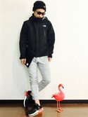 leftybabyさんの「(HERSCHEL)10164_NETWORK_POUCH_EXTRA_LARGE(ROSE BUD COUPLES|ローズ バッド カップルズ)」を使ったコーディネート