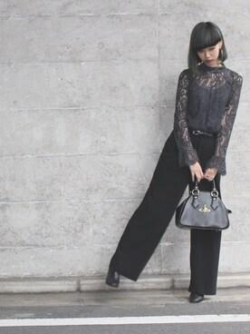 ユキノ リナさんの(H&M|ヘンネスアンドモーリッツ)を使ったコーディネート