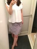 ma♡さんの「★JOC レースタイトスカート(Jewel Changes|ジュエルチェンジズ)」を使ったコーディネート