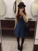 maiko*さんの「流蘇樂福鞋(KBF|マリメッコ)」を使ったコーディネート
