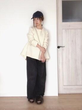 emi さんの(petite robe noire プティ ローブ ノアー)を使ったコーディネート