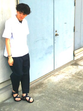 ADAM ET ROPE' 札幌ステラプレイス|RYO KUROSAWAさんの(ADAM ET ROPE'|アダム エ ロペ)を使ったコーディネート