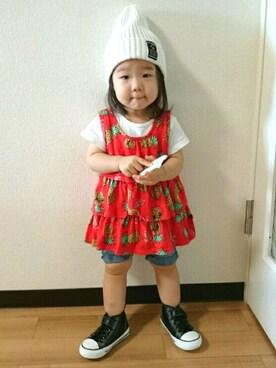 yuricaさんの(RODEO CROWNS WIDE BOWL|ロデオクラウンズワイドボウル)を使ったコーディネート