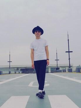 佐藤 浩一 /albumさんの(YAECA ヤエカ)を使ったコーディネート
