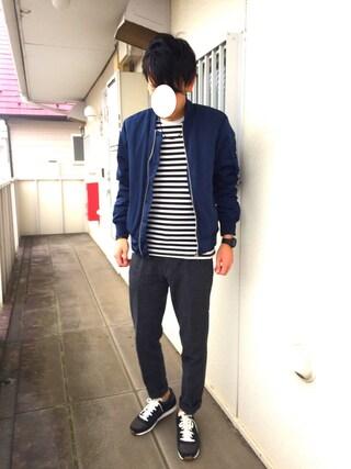 Hirokichiさんの「CASIO / G-SHOCK / DW-5600BB-1JF / Solid Colors(G-SHOCK|ジーショック)」を使ったコーディネート