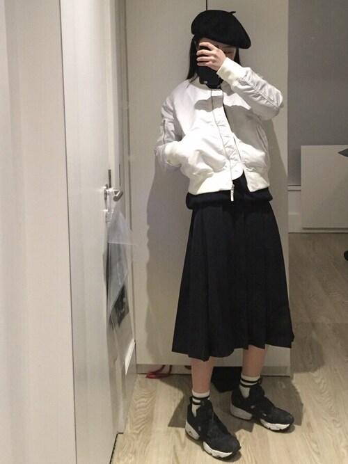M使用「Reebok(INSTA PUMP FURY(インスタ ポンプフューリー)コーデュラ(CORDURA))」的時尚穿搭