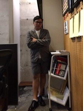 伊藤孝法OUTPUT中目黒さんの(Ray-Ban|レイバン)を使ったコーディネート