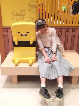 yurikoさんの「サテンティアードキャミ 712913(Heather|ヘザー)」を使ったコーディネート