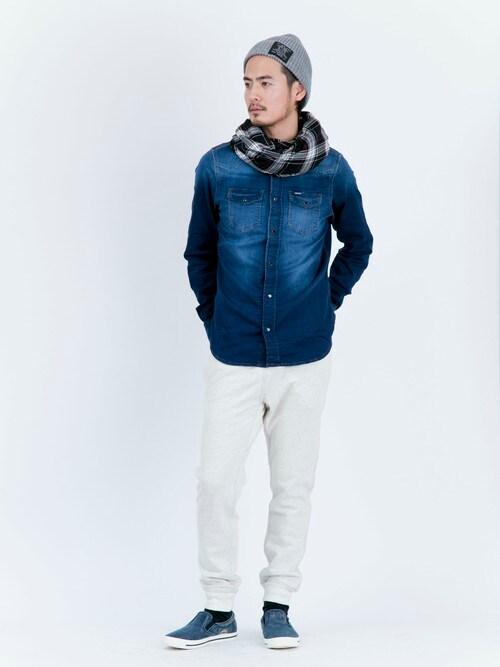 DIESEL KOBE | nishiokaさんのシャツ/ブラウス「DIESEL SONORA-NE SHIRT0662S」を使ったコーディネート