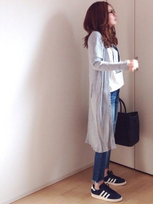 mayumiさんの「オリジナルス 日本モデル キャンパス80s[CP 80s JAPAN PACK VNTG](adidas)」を使ったコーディネート