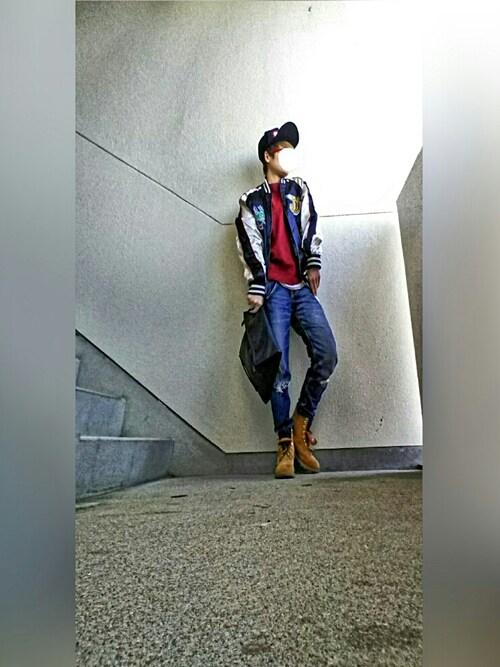 "☆hyuuga☆さんの「Timberland 6"" PREMIUM BOOT(Timberland)」を使ったコーディネート"