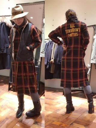 「ATP pt ロングCD(HYSTERIC GLAMOUR)」 using this HYSTERIC GLAMOUR福岡店|happachin looks