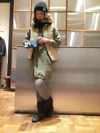 「CR/CRAMPS pt スタンドカラープルオーバーロングSH(HYSTERIC GLAMOUR)」 using this HYSTERIC GLAMOUR福岡店|happachin looks
