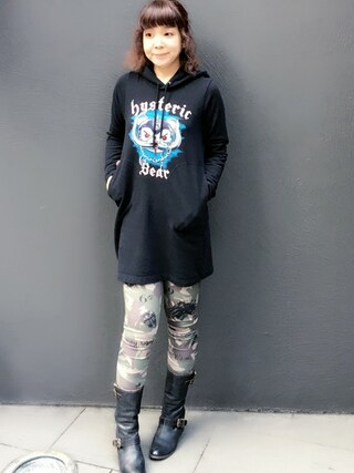 「BEAR HEAD2 pt PK(HYSTERIC GLAMOUR)」 using this HYSTERIC GLAMOUR福岡店|happachin looks