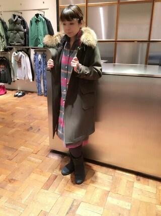 「ロングSH(HYSTERIC GLAMOUR)」 using this HYSTERIC GLAMOUR福岡店|happachin looks