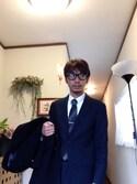 taiyo-smileさんの「[ペペ・マテウ]PM MULTICOLOR タイバー(green label relaxing|グリーンレーベルリラクシング)」を使ったコーディネート