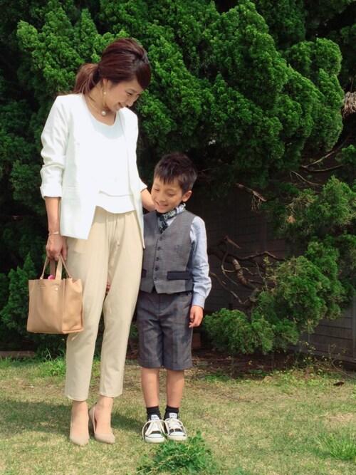 入学式・卒業式ママコーデ