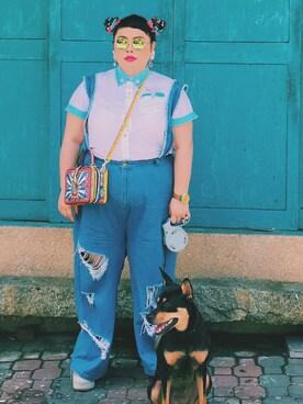 渡辺直美さんの(Dolce & Gabbana ドルチェアンドガッバーナ)を使ったコーディネート
