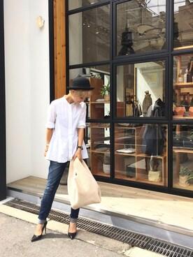 LIFE's堀江店 MIZUKI TANAKAさんの「ボアハンドバッグ(TODAYFUL トゥデイフル)」を使ったコーディネート
