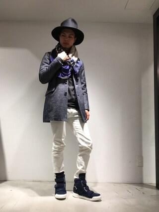 TATRAS&STRADA EST TOKYO|DAISUKEさんの(TATRAS|タトラス)を使ったコーディネート