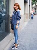 「Golden Goose 'May' Sneaker (Women)(Golden Goose)」 using this jihyun_imvely looks