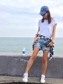 「Balenciaga Studded textured-leather wallet(Balenciaga)」 using this NOA looks
